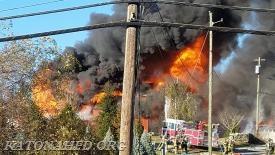 Croton Falls Barn Fire