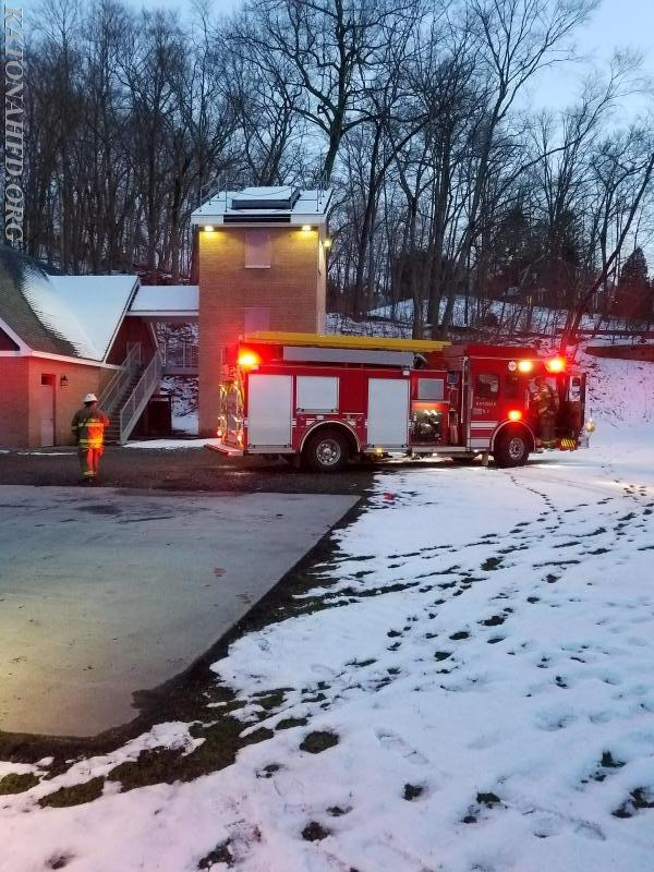 Gas Leak Simulation Held at Training Tower - Katonah Fire Department