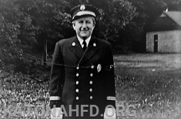Chief Lawrence in dress uniform.