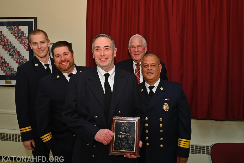 2019 Firefighter of the Year Tom Connolly.  Photo by Gabe Palacio